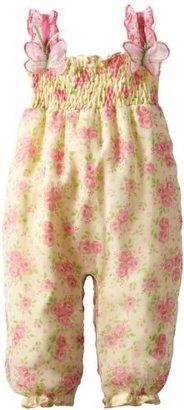 Nannette Baby-Girls Newborn 1 Piece Knit Overall