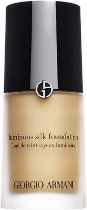 Armani Women's Luminous Silk Foundation - Ivory $64 thestylecure.com
