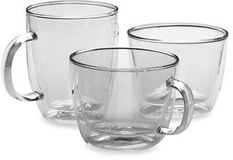 Bodum Bistro Double Wall Mugs (Sets of 2)