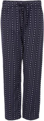 Topshop Dobby Heart Print PJ Trousers