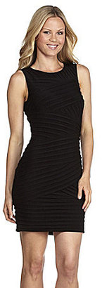 Calvin Klein Sleeveless Pleat-Detail Dress
