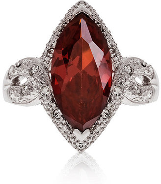 GUESS Red Marquise Cut Ring Size 8