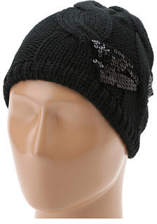 San Diego Hat Company KNH3288 Knit Sequin Bow Beanie