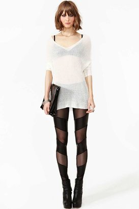 Nasty Gal Razor Mesh Leggings