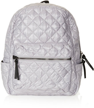 Topshop Nylon Quilted Backpack