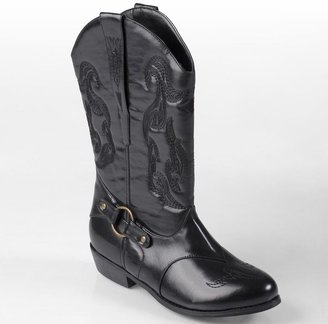 Journee Collection beverly cowboy boots - women