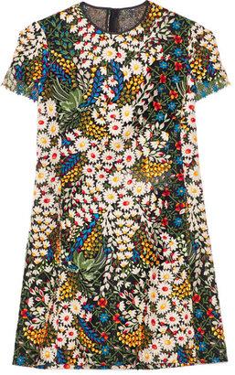 Valentino Preorder Multi Macrame Bouquet Dress