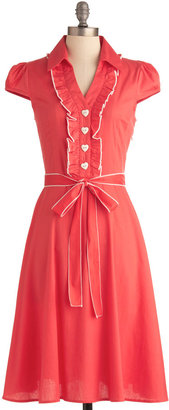 About the Artist Dress in Coral