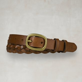 Rugby Braided Leather Belt