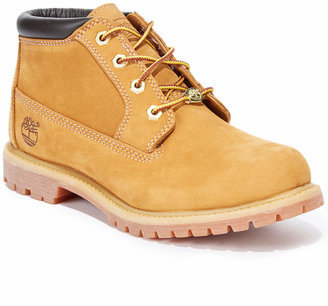 Timberland Women's Nellie Lace Up Utility Waterproof Boots $109.98 thestylecure.com