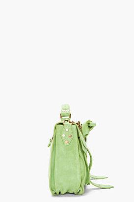 Proenza Schouler jade suede foldover PS1 messenger bag