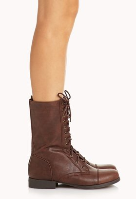 Forever 21 everyday combat boots