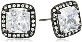 Juicy Couture Diamond Cubic Zirconia Stud Earrings
