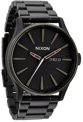 Nixon Sentry Bracelet Watch, 42Mm $250 thestylecure.com