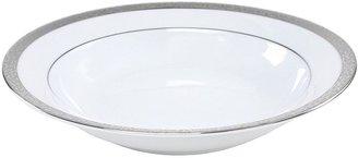 Nikko platinum filigree soup bowl