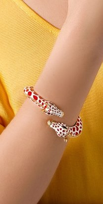 Kenneth Jay Lane Giraffe Head Bracelet