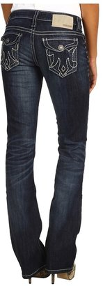 MEK Oaxaca Slim Bootcut Jean in Dark Blue (Dark Blue) - Apparel