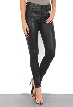 Citizens of Humanity Rocket Leatherette Jeans in Ash