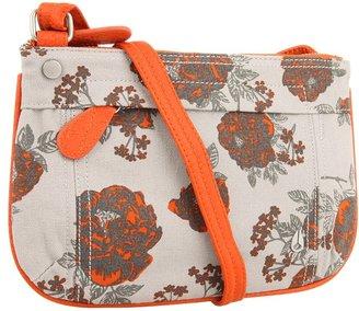 Nixon Fleet Low Slung Hobo (Floral Canvas) - Bags and Luggage