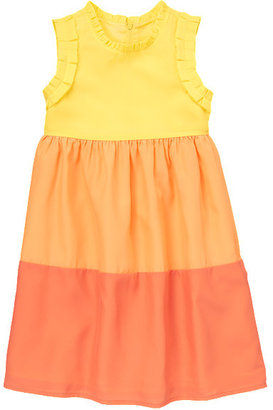 Gymboree Colorblocked Ruffle Dress