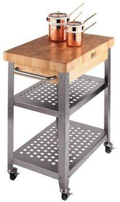 """John Boos & Co.® Rosato End-Grain Cart, 30"""" x 20"""""""