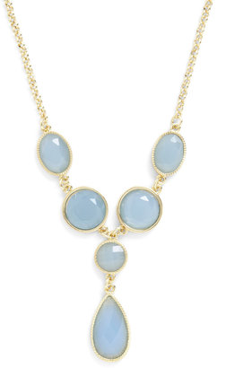 Sea Glass Half Full Necklace