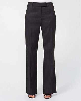 Le Château Striped Wool Blend Flare Leg Pant
