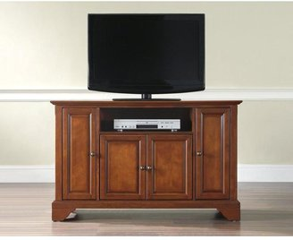 Crosley LaFayette Cherry Entertainment Center