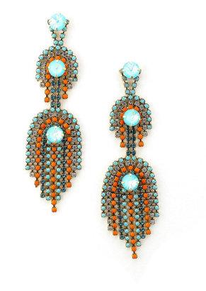 Elizabeth Cole Danica Earrings Style 1