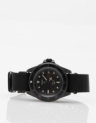 Military Watch Co. 21 Jewel PVD Auto Submariner