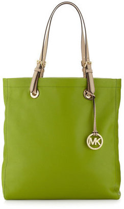 MICHAEL Michael Kors Michael By Michael Kors Jet Set North-south Tote, Lime