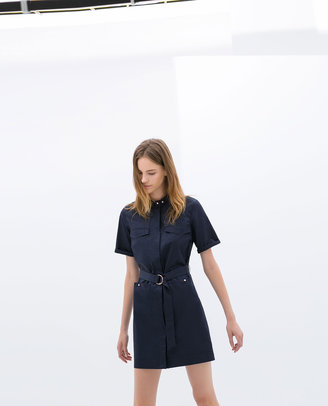 Zara Dress With Belt