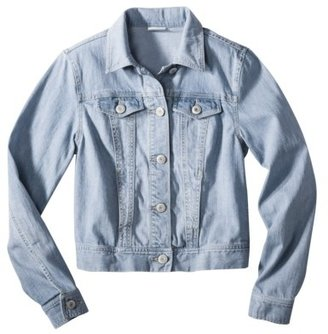 Mossimo Juniors Button Down Denim Jacket - Assorted Colors