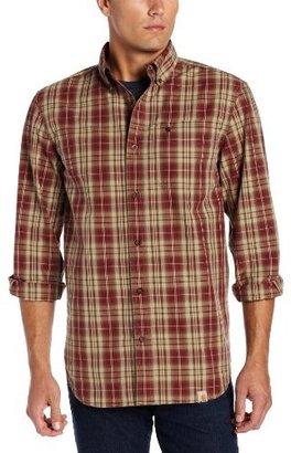 Carhartt Men's Bellevue Plaid Long Sleeve Shirt