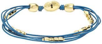 Fossil Dainty Wrist Wrap - Blue
