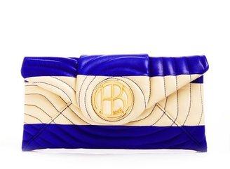 Henri Bendel No. 7 Quilt Stripe Envelope Clutch
