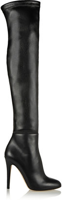 Jimmy Choo Turner Stretch-Leather Thigh Boots
