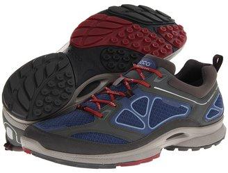Ecco Sport - Quest (Dark Shadow/Denim Blue/Port Synthetic/Textile/Decoration) - Footwear