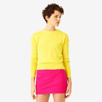 Kate Spade Saturday Button-Neck Sweater