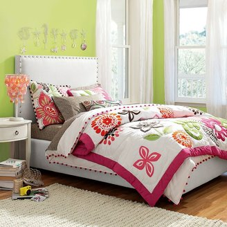 Raleigh Upholstered Bed + Headboard