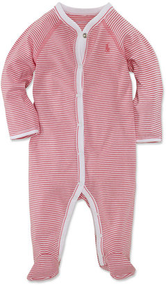 Ralph Lauren Baby Coverall, Baby Girls Striped Coverall $29.50 thestylecure.com