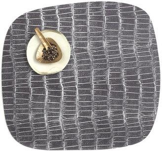 Chilewich Mod Croc Placemat Black Set Of 2