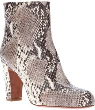 The Seller leather ankle boot