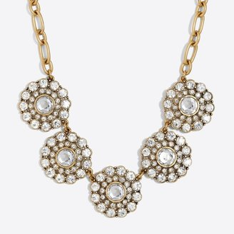 J.Crew Layered circle necklace