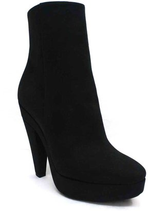 "Stella McCartney 326964 Bailey"" Black Fabric Platform Boot"