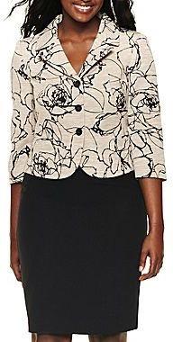 JCPenney J. Rose Skirt Suit