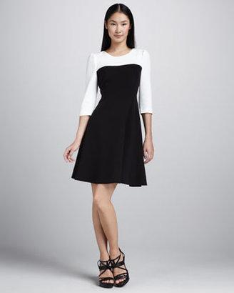 Kate Spade Olsen Two-Tone Dress
