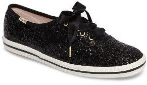 Women's Keds For Kate Spade New York Glitter Sneaker $85 thestylecure.com