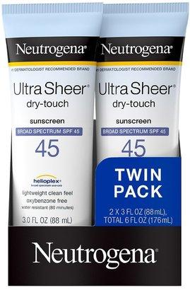 Neutrogena Ultra Sheer Dry-Touch Sunscreen, SPF 45
