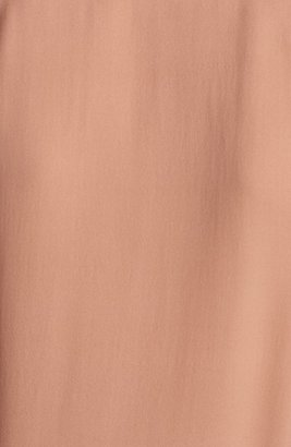 Theory 'Hylin' Silk Top Copper Large